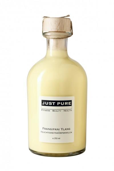 Frangipani Ylang Feuchtigkeitskörpermilch, 250 ml