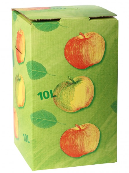 Wieder verfügbar in der 10 Liter Box. Apfel-Trauben-Birnensaft naturtrüb & BIO