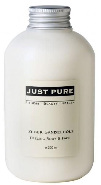 Zeder Sandelholz Peeling Body & Face