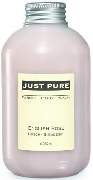 ENGLISH ROSE SHOWER & BATH GEL - PALM OIL FREE!