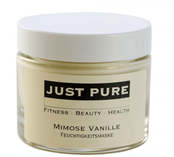 Mimose Vanille Feuchtigkeitsmaske