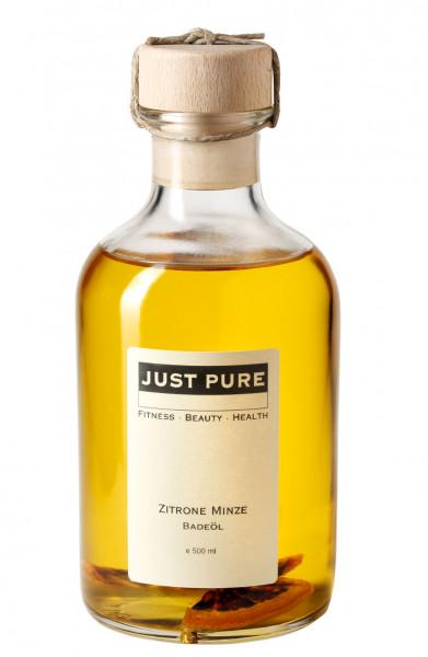 Zitrone Minze Badeöl