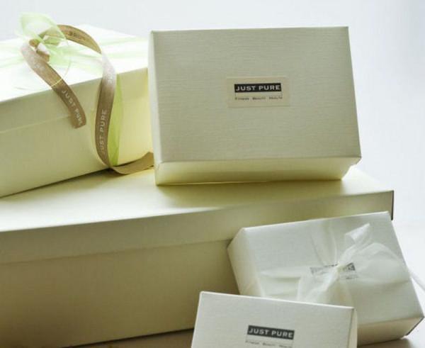 Geschenk Box Verpackung size M (Schuhkarton Größe)