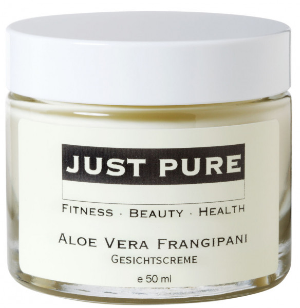 Aloe Vera Frangipani Gesichtscreme