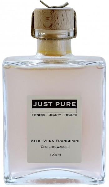 Aloe Vera Frangipani Gesichtswasser