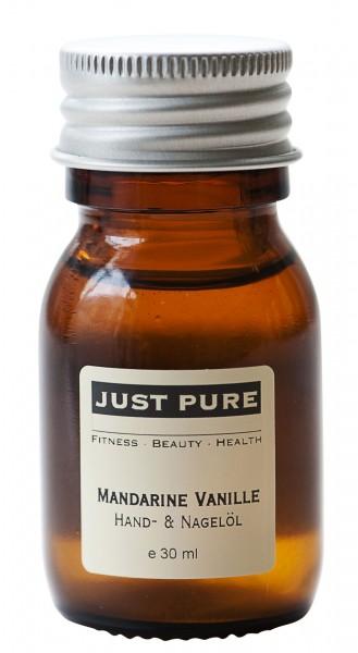 Mandarine Vanille Hand- und Nagelöl