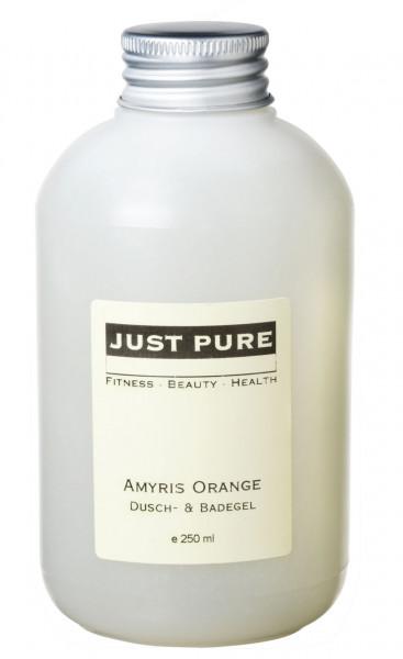 Amyris Orange Dusch-& Badegel - OHNE PALMÖL!