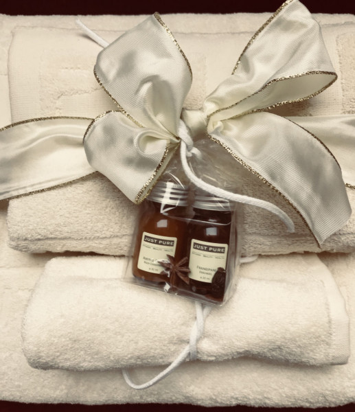HomeSpa Frottee Set