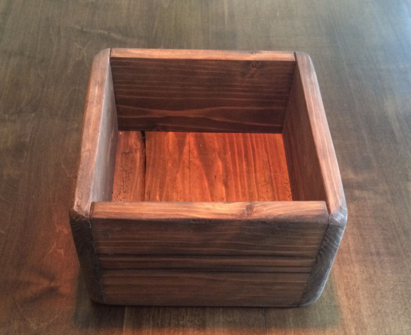 Small Wooden box (scrap wood)