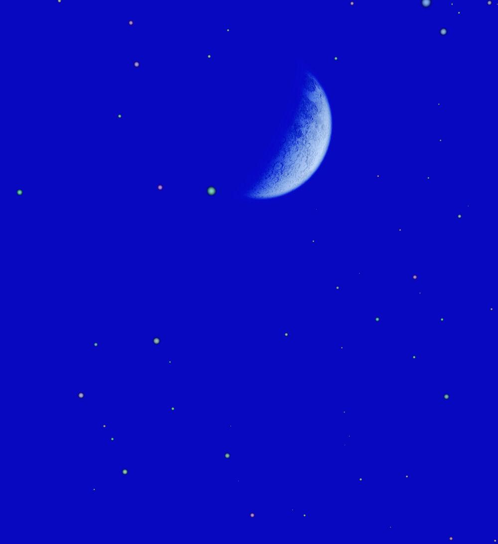 Abnehmender Mond / Neumond