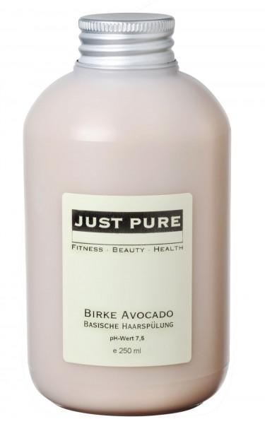 Birke Avocado - basische Haarspülung (pH-Wert 7,2 - 7,5)