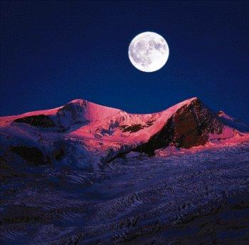 Zunehmender Mond / Vollmond